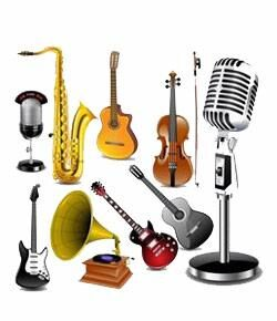 musical instruments to usa